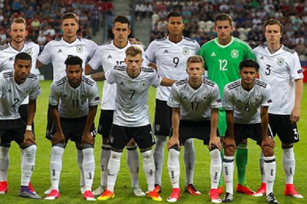 U21 Đức tập hợp những cầu thủ trẻ nhất của mình