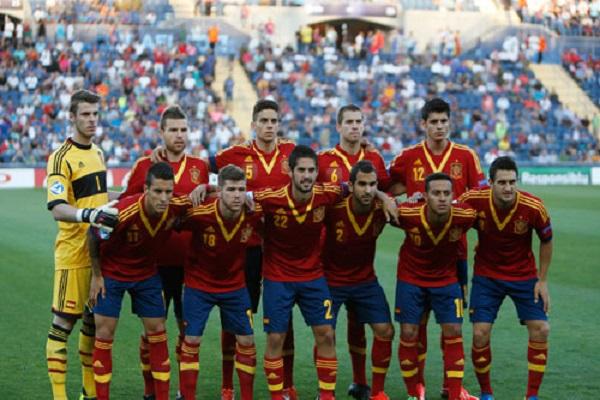 Tây Ban Nha đang vụt sáng trên mặt bằng chung của U21 Châu Âu