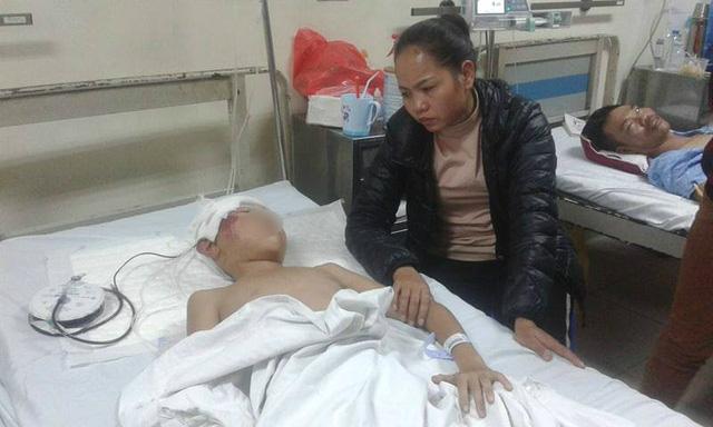 sập lan can trường học tại bắc ninh, sập lan can trường 13 học sinh bị thương