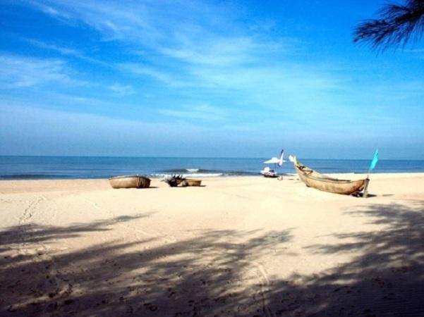 Cảnh nên thơ của khu du lịch ở Vũng Tàu