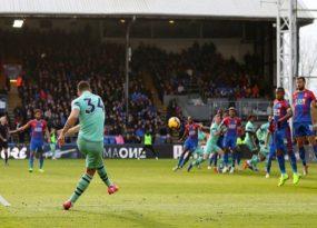 5 điểm nhấn Crystal Palace 2-2 Arsenal: Pháo thủ đứt mạch 12 thắng