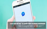 Cách đọc tin nhắn trên Facebook