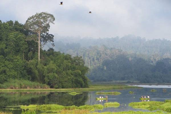 Vườn quốc gia Cát Tiên là một khu bảo tồn thiên nhiên nằm trên 6 địa bàn