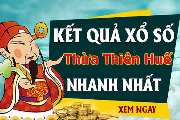 Soi cầu XS Thừa Thiên Huế chính xác thứ 2 ngày 15/07/2019
