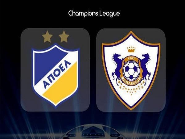 Soi kèo APOEL Nicosia vs Qarabag, 0h00 ngày 7/08