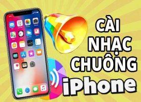 cách cài nhạc chuông cho iPhone