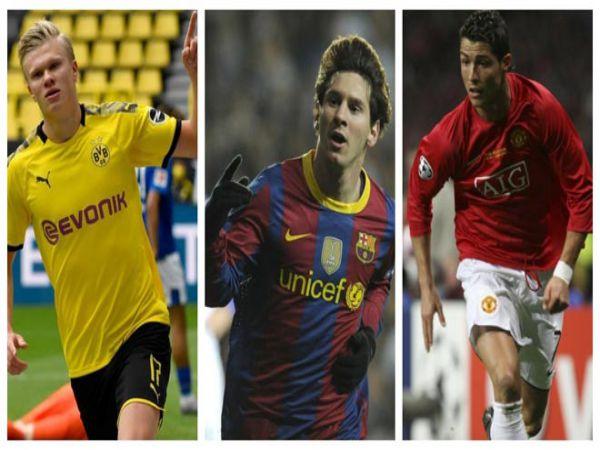 Haaland vừa đạt thành tích ghi bàn đáng nể hơn Messi và Ronaldo từng có trong quá khứ