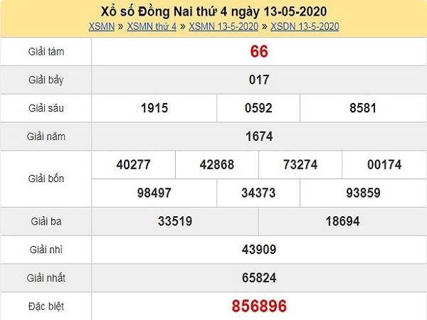 Nhận định KQXSDN- kết quả xổ số đồng nai thứ 4 ngày 20/05