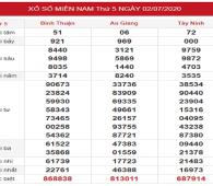 Bảng KQXSMN- Dự đoán xổ số miền nam ngày 09/07 chuẩn xác
