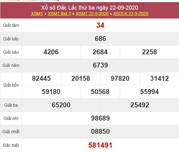 Nhận định KQXS ĐăkLắc 29/9/2020 thứ 3 siêu chuẩn