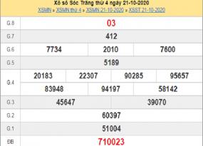 Thống kê KQXSST ngày 28/10/2020- xổ số sóc trăng chi tiết