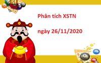 Phân tích XSTN 26/11/2020