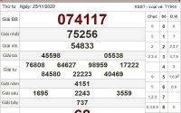 Thống kê XSST ngày 02/12/2020- xổ số sóc trăng chi tiết