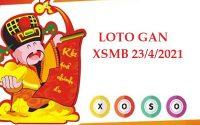 Loto gan kết quả XSMB 23/4/2021
