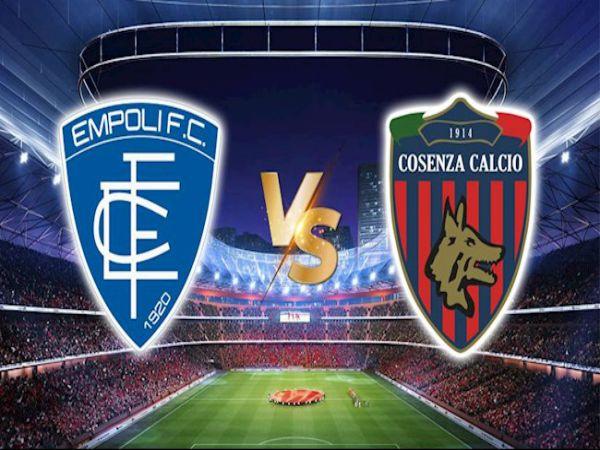Nhận định tỷ lệ Empoli vs Cosenza, 19h00 ngày 4/5 - Hạng 2 Italia