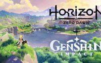 Genshin Impact giao nhau giữa Major Horizon: Zero Dawn